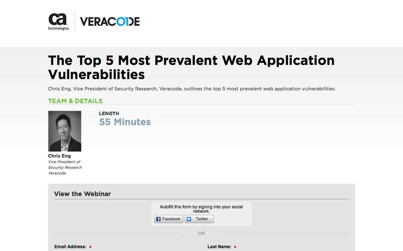 The Top 5 Most Prevalent Web Application Vulnerabilities