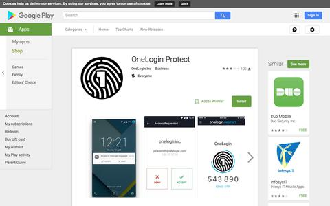 OneLogin Protect - Android Apps on Google Play