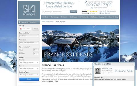 France Ski Deals  | Ski Solutions