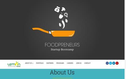 Screenshot of Home Page lemonideas.in - Lemon Ideas - captured Jan. 26, 2015