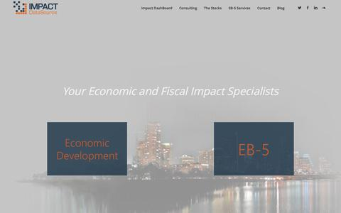 Impact DataSource | Economic and Fiscal Impact Specialists