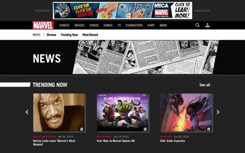 News | Marvel.com
