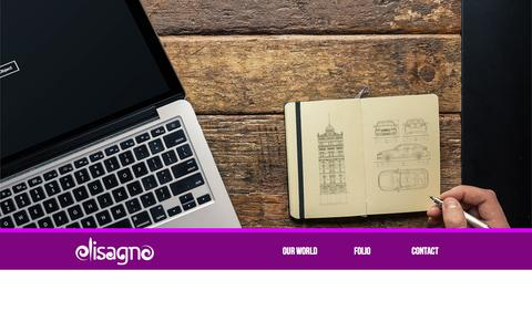 Screenshot of Home Page disagno.com - Launching SOON | disagno Ltd. - Creative Design Studio - captured Oct. 5, 2014