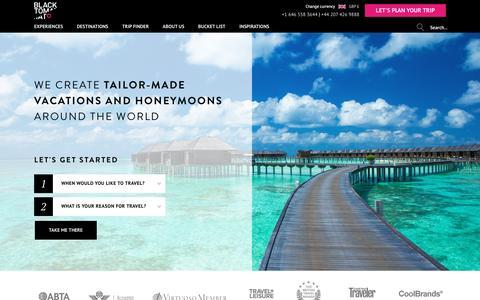 Screenshot of Signup Page blacktomato.com - Luxury Tailor Made Holidays & Honeymoons | Black Tomato - captured May 14, 2017