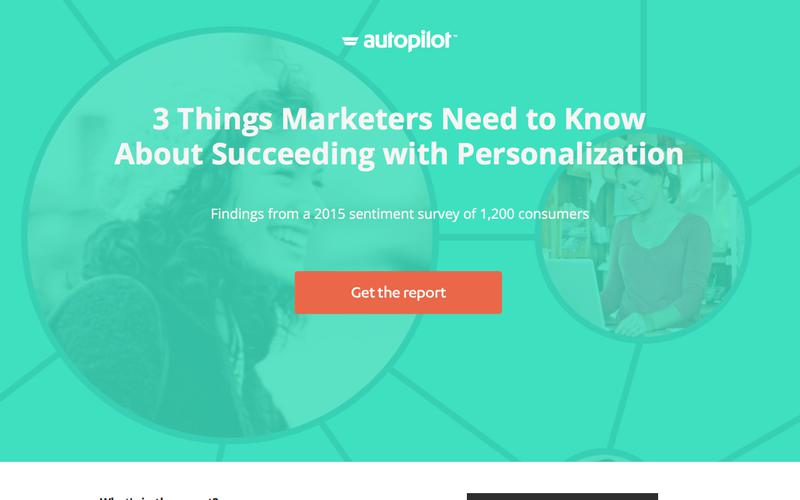 What Marketers Need to Know About Succeeding with Personalization | Autopilot