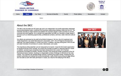 Screenshot of About Page ibcc.org.il - UK Chamber of Commerce - captured Oct. 13, 2018