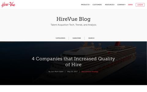 HireVue Blog - Recruiting Strategy & Candidate Experience Trends