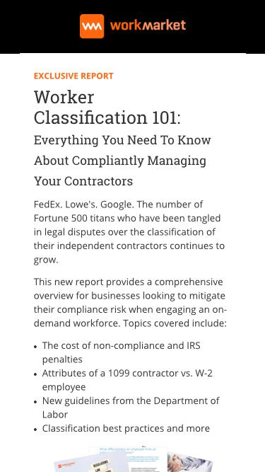 Worker Classification 101: Everything You Need To Know About Properly Classifying Your Contractors