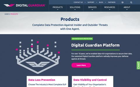 Data & Information Protection & Security Products | Digital Guardian