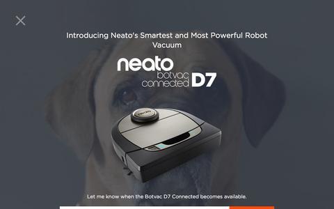 Screenshot of Blog neatorobotics.com - The Neato Robotics Blog | Learn More About Neato Robotics - captured Sept. 5, 2017