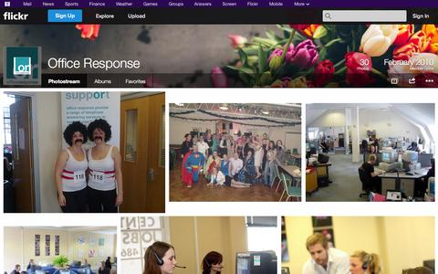 Screenshot of Flickr Page flickr.com - Flickr: Office Response's Photostream - captured Oct. 22, 2014