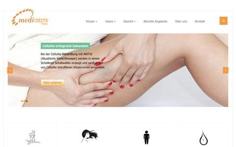 Screenshot of Home Page medicare-wien.at - Start - captured June 15, 2017