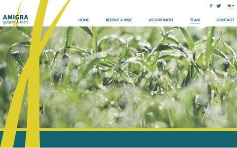 Screenshot of Team Page amigra.nl - Team - Amigra - captured Nov. 6, 2018