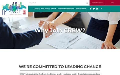 Screenshot of Signup Page crewjax.org - CREW Jacksonville - Why Join? - captured Feb. 14, 2018