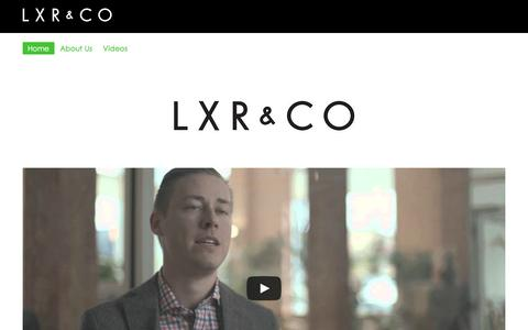 Screenshot of Jobs Page lxrco.com - LXR&CO Careers - captured Dec. 6, 2015