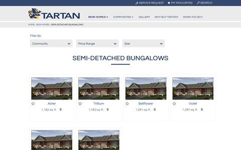 Semi-Detached Bungalows Archives | Tartan Homes