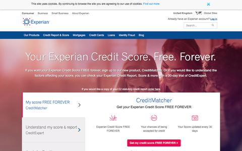 Free Credit Check, Credit Report & Credit Score | Experian