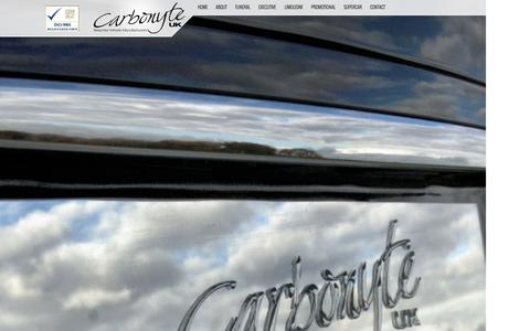 Screenshot of About Page carbonyte.co.uk - Carbonyte UK - Bespoke Vehicle Manufacturers - captured Oct. 1, 2014