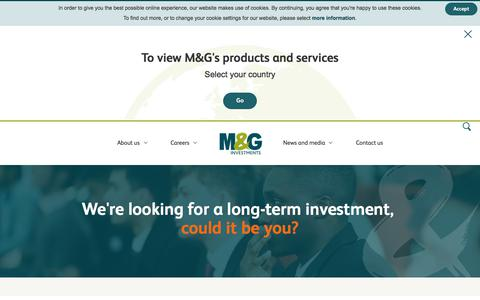 Careers in Finance and Asset Management | M&G Investments