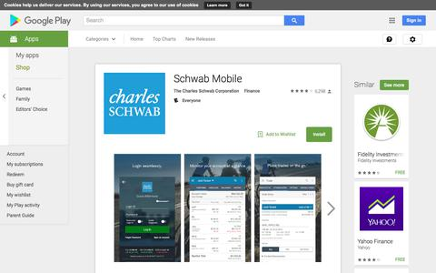 Schwab Mobile - Android Apps on Google Play