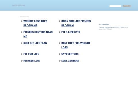 befitforlife.net - This website is for sale! - befitforlife Resources and Information.