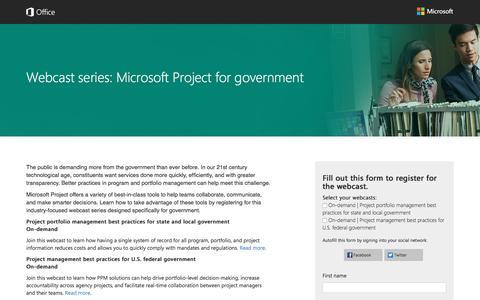 Screenshot of Landing Page office.com - Microsoft - captured Oct. 22, 2016