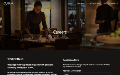 Careers   ROKA London