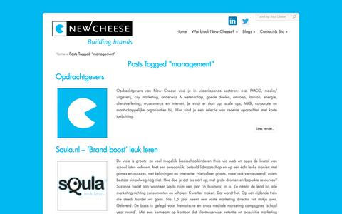 Screenshot of Team Page newcheese.nl - management Archives - New Cheese | New Cheese - captured Nov. 7, 2018