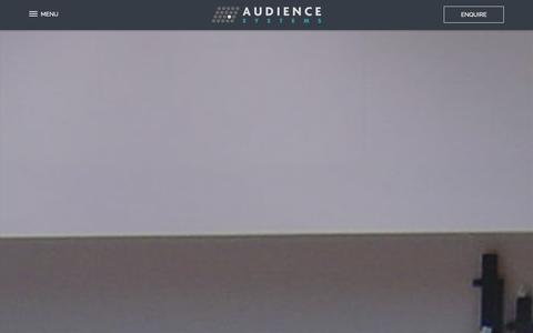 Screenshot of Press Page audiencesystems.com - News - Audience Systems - Audience Systems - captured Jan. 22, 2016