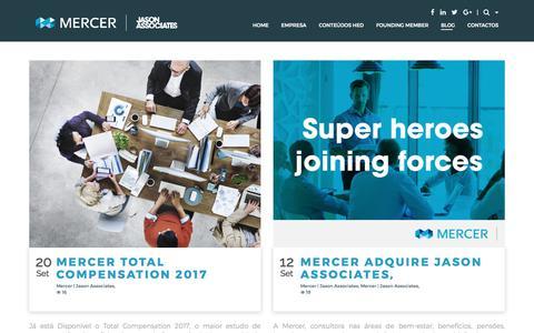Screenshot of Blog jasonassociates.com - Blog | Mercer | Jason Associates - captured Oct. 16, 2017