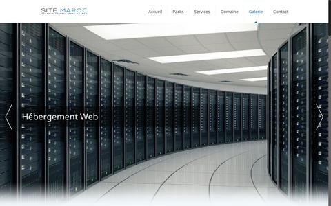 Screenshot of Home Page site-maroc.com - Création site web Maroc | site maroc | studio de photo | gestion de conte... - captured Dec. 15, 2017