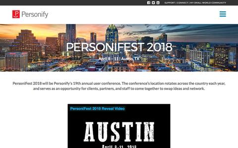 PersoniFest 2018 - Personify