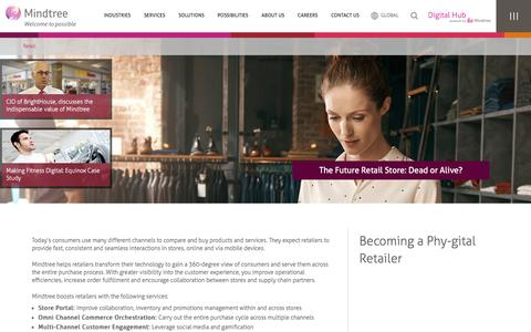 Retail Software & Technology Solutions | Mindtree