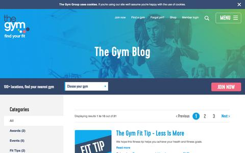 The Gym Blog | News & Updates | The Gym Group