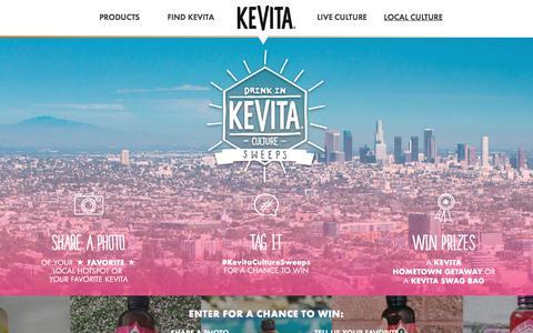 KeVita - Sparkling Probiotic Drink | Master Brew Kombucha
