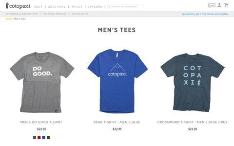 Men's Tees – Cotopaxi - Gear For Good
