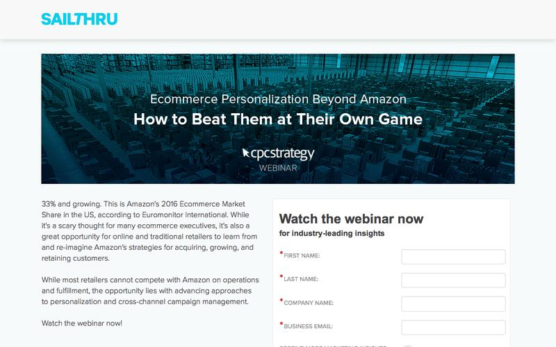 Ecommerce Personalization Beyond Amazon: How to Beat Them at Their Own Game