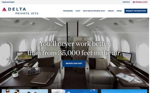 Private Jet Charters, Member Programs & More | Delta Private Jets