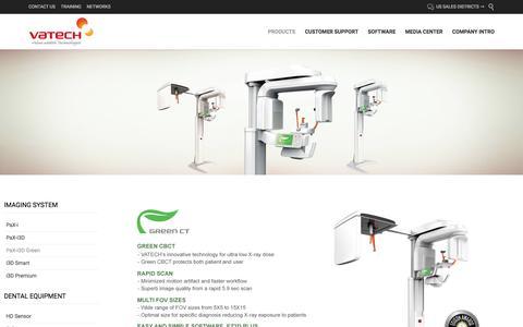 » PaX-i3D Green