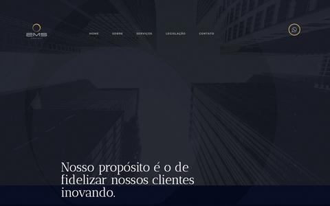 Screenshot of Home Page emsproject.com.br - Home | EMS Project - captured Dec. 13, 2018