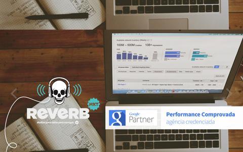 Screenshot of Home Page reverbmkt.com.br - Reverb Marketing   Agência Marketing Digital SP - captured Feb. 16, 2016