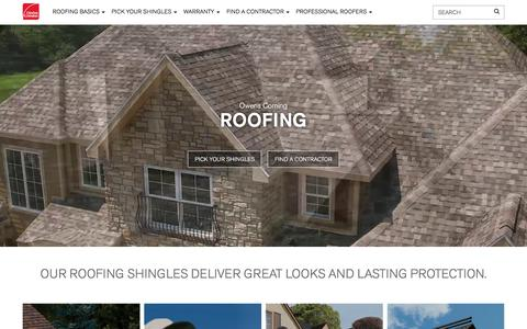 Asphalt Roofing Shingles | Owens Corning