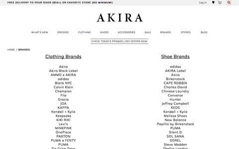 Jeffrey Campbell, Chinese Laundry, Steve Madden, adidas, Puma & More - AKIRA