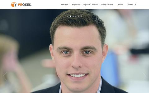 Prosek Partners   Public Relations Firm in CT, NY, and London