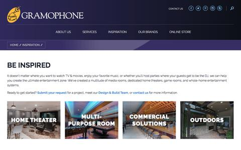 Screenshot of Case Studies Page gramophone.com - | Gramophone - captured July 23, 2018