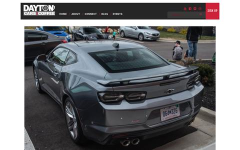 Screenshot of Blog daytoncarsandcoffee.com - Blog | - captured Aug. 6, 2018