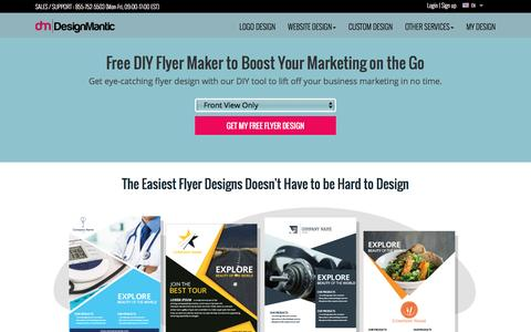 Free Flyer Design Creator to Boost Marketing by DesignMantic.com