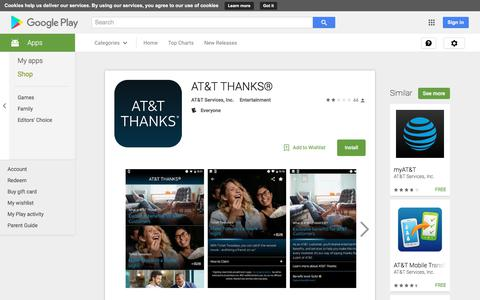AT&T THANKS® - Android Apps on Google Play