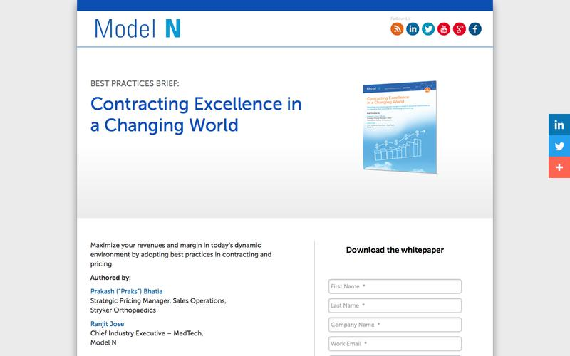 Contracting Excellence in a Changing World